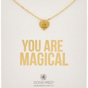 Dogeared You Are Magical Forever Heart Necklace